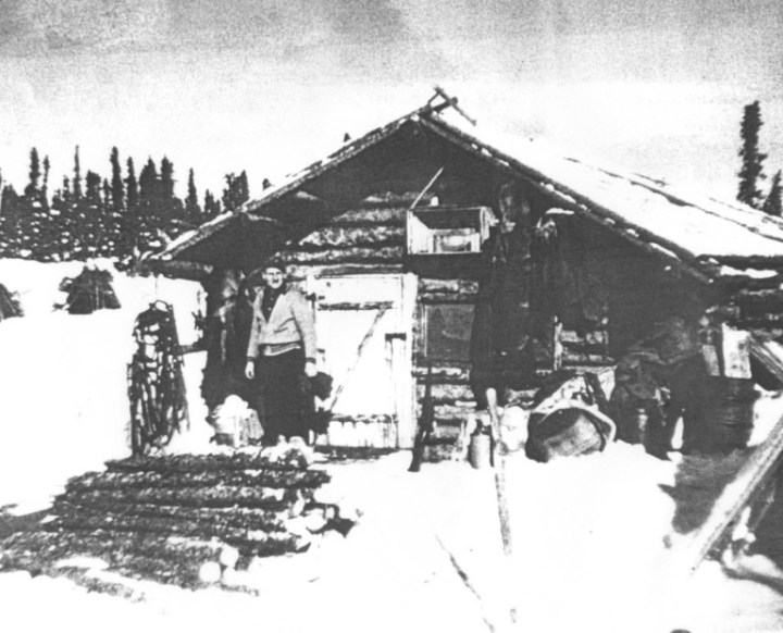 John Albrecht_Cabin_Selwyn Lake_c1948