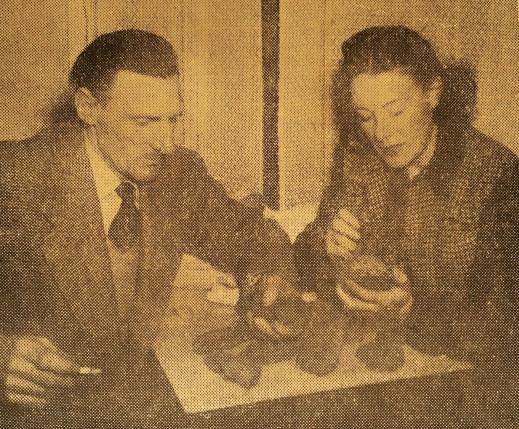 John and Nan March 1950