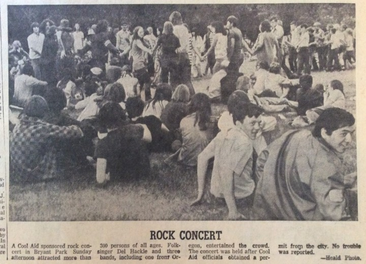 Cool Aid_Rock Concert_May 31 1971