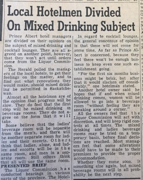 Liquor vote_30 June 1959