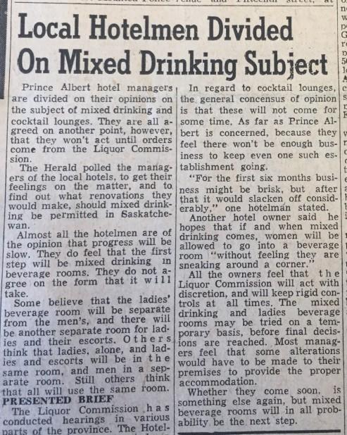 Liquor vote_30 June 1959