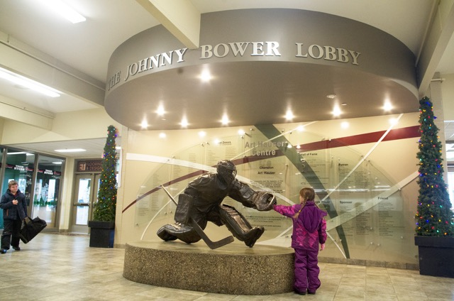 Johnny Bower statue_Jason Kerr photo